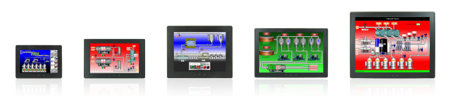Graphite Touchscreen HMI Operator Interface Panels